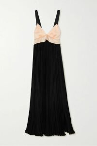 RIXO - Maria Tiger-print Sequined Chiffon Mini Dress - Bright blue
