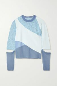 Stella McCartney - Wool-twill Coat - Blue