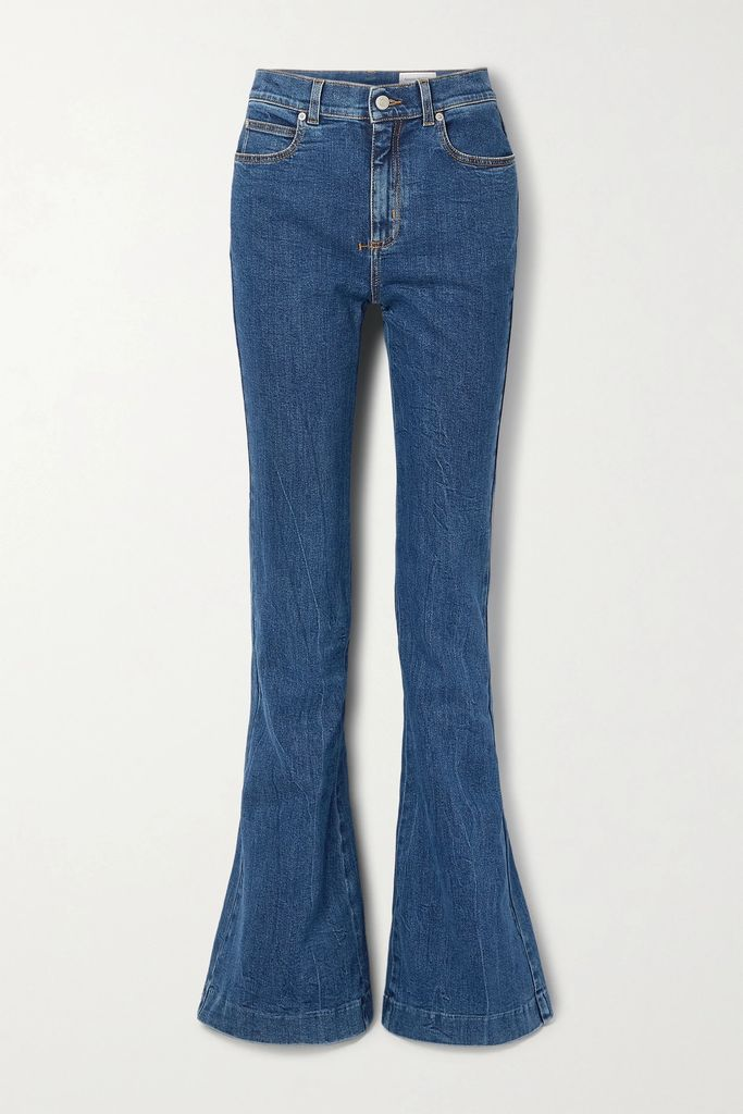 Maggie Marilyn - Safe In Your Arms Pleated Cotton-blend Poplin And Crepe Wrap-effect Skirt - White