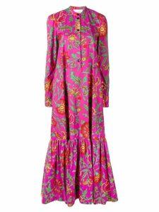 La Doublej maxi shirt dress - Pink