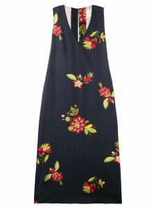 La Doublej Printed cocktail dress - Blue