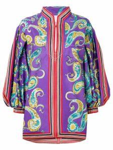 Philosophy Di Lorenzo Serafini paisley kaftan dress - Purple
