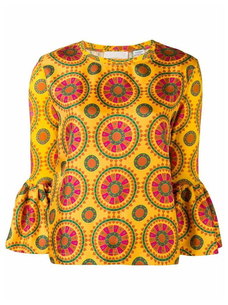 La Doublej Gemini blouse - Yellow