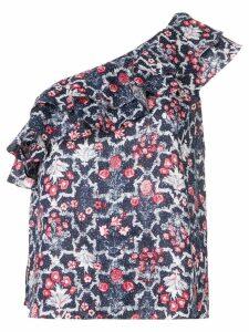 Isabel Marant Étoile floral-print top - Blue