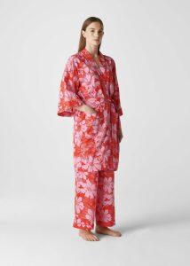 Birds Of Paradise Kimono Gown