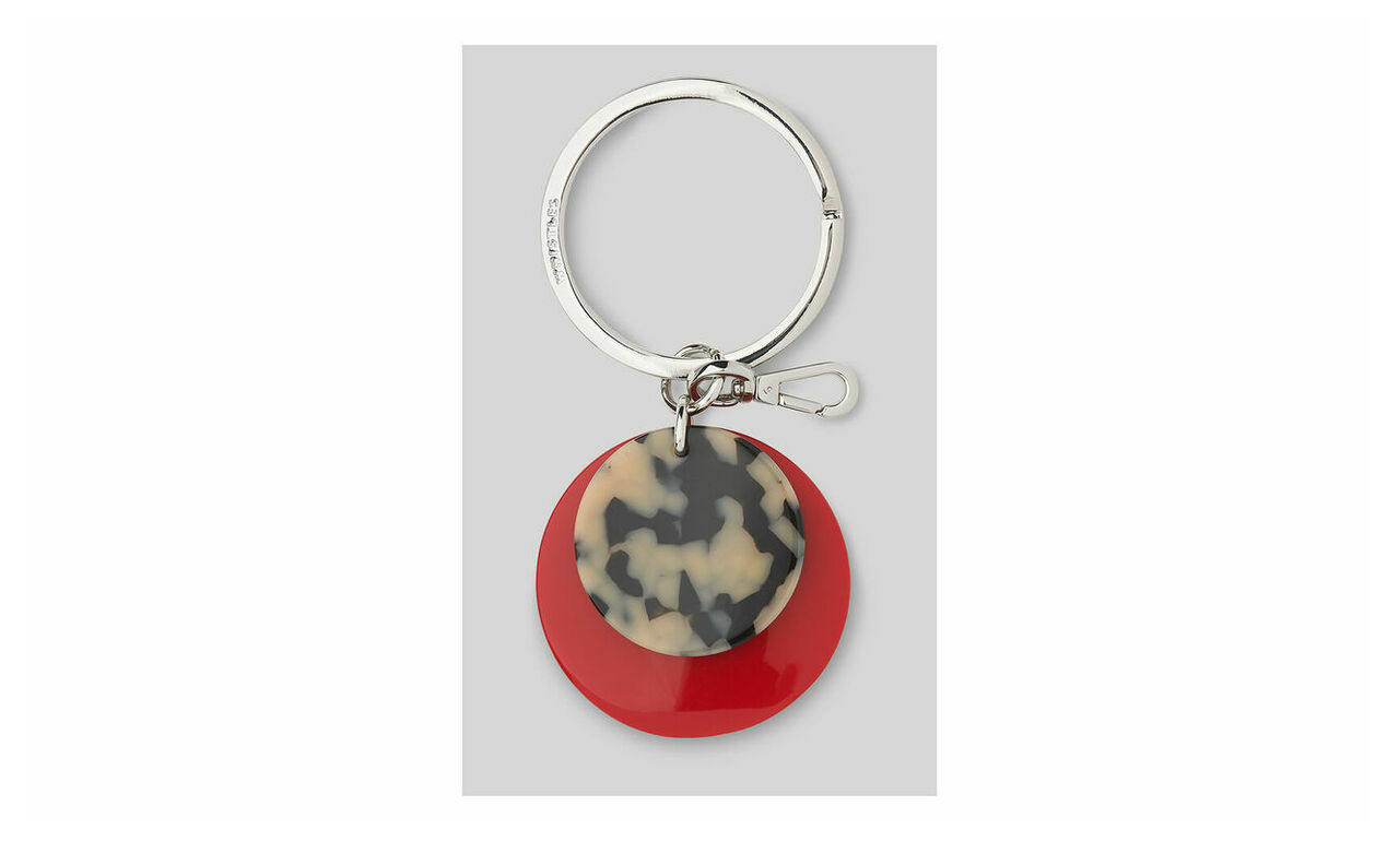 Resin Disc Keyring