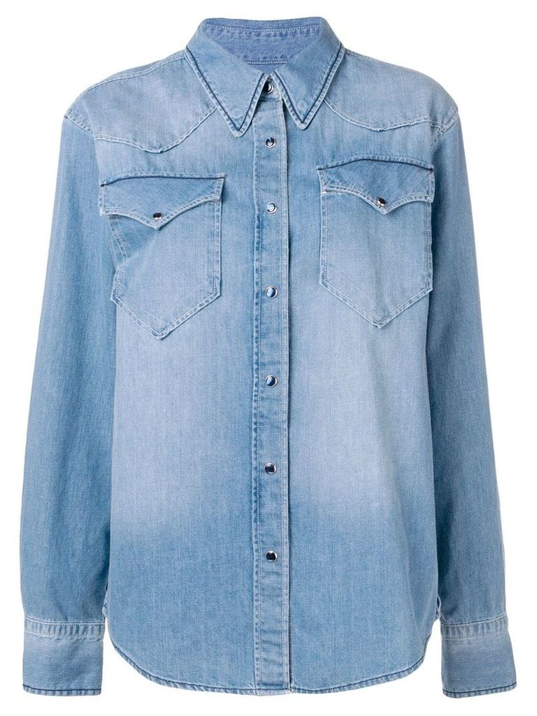 Isabel Marant Étoile denim shirt - Blue