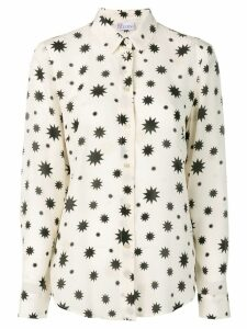 Red Valentino star print silk shirt - Neutrals