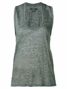Isabel Marant U-neck tank top - Grey
