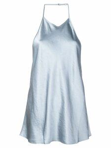 T By Alexander Wang cold shoulder camisole top - Blue