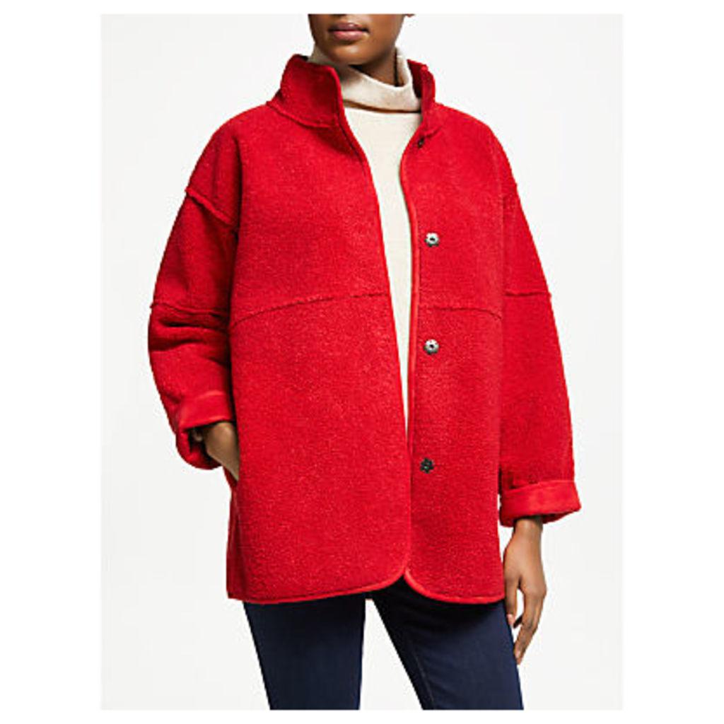 Velvet by Graham & Spencer Albany Coat, Red