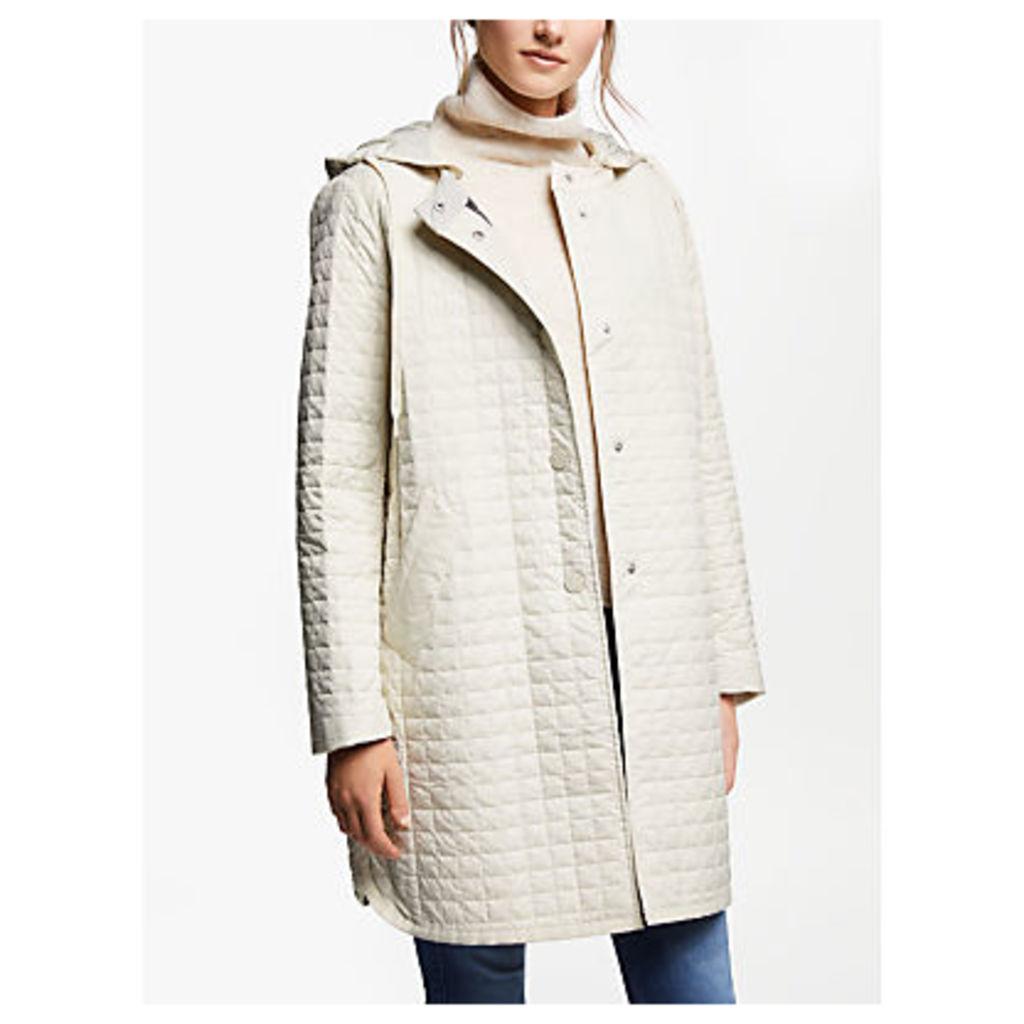 Weekend MaxMara Quilted Hooded Jacket, Sand
