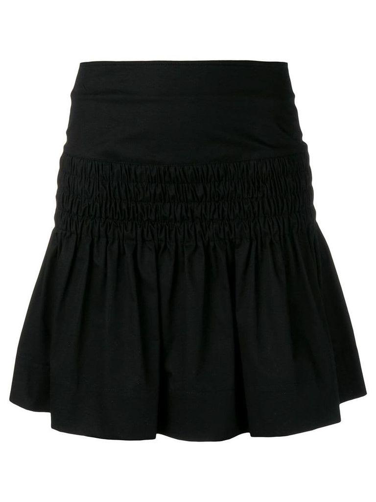 Isabel Marant Étoile elasticated detail skirt - Black