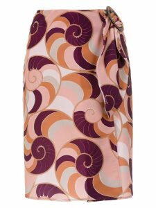 Adriana Degreas Nautilus skirt - Multicolour