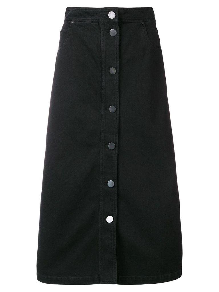 Christian Wijnants denim long skirt - Black
