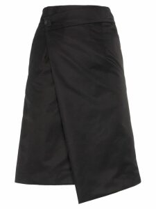 Ten Pieces x rude wrap over skirt - Black