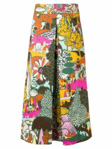 La Doublej Long Santa Monica skirt - Green
