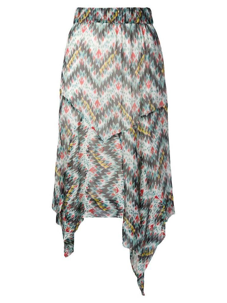 Isabel Marant Étoile asymmetric skirt - Blue