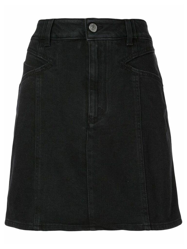 Givenchy classic denim skirt - Black
