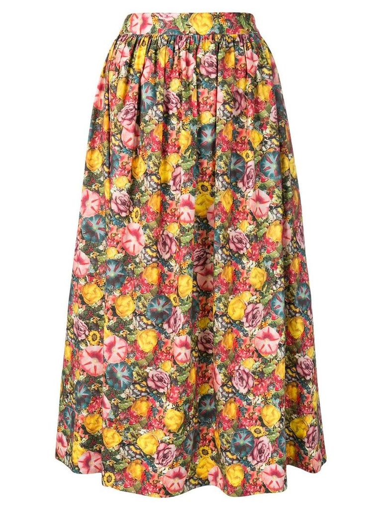 Marni floral skirt - Pink
