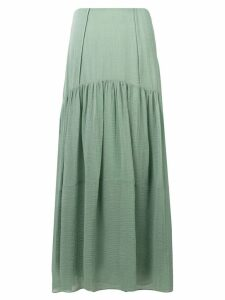 3.1 Phillip Lim long flared skirt - Green