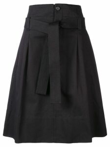 Golden Goose flared midi skirt - Black