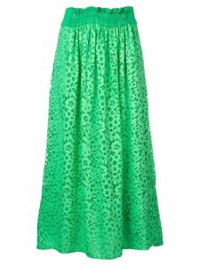 Tibi lace midi skirt - Green