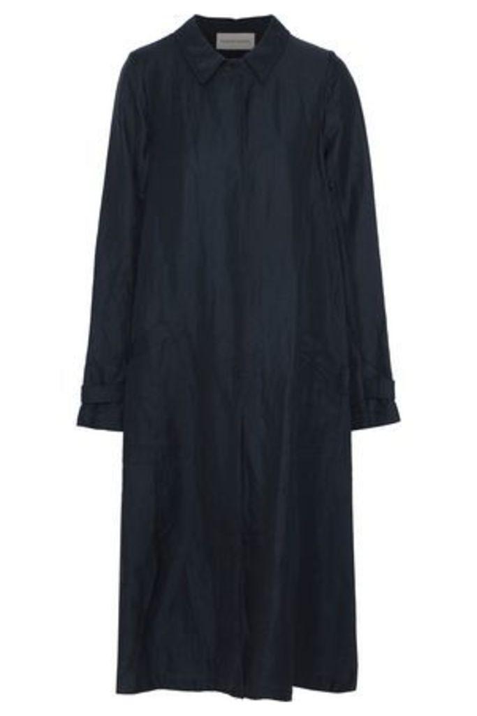 Mansur Gavriel Woman Canvas Jacket Midnight Blue Size 44