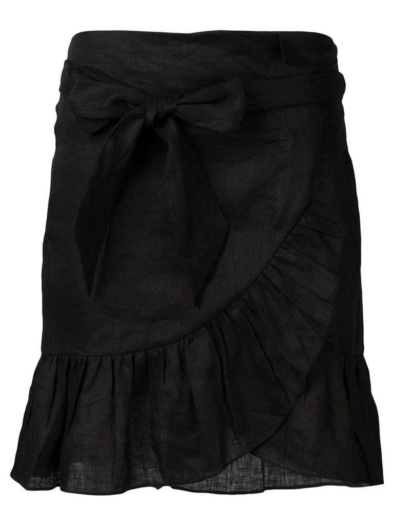 Isabel Marant Étoile Tempster wrap-effect skirt - Black