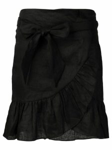 Isabel Marant Étoile Tempster wrap-effect skirt - Black