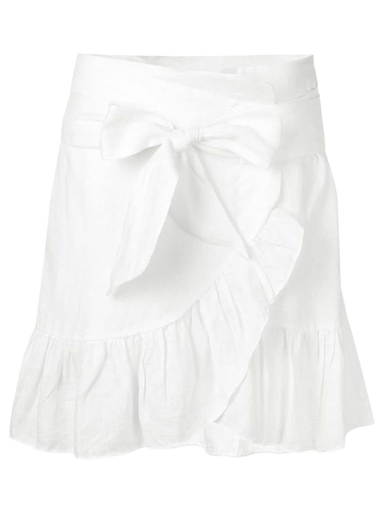 Isabel Marant Étoile Tempster wrap-effect skirt - White