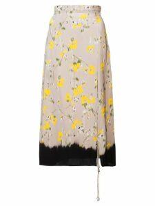 Altuzarra 'Felice' Skirt - Neutrals
