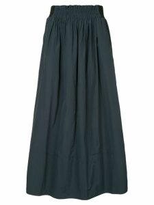Tibi high-waist midi skirt - Blue
