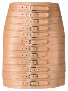 Manokhi Dita belted skirt - Neutrals