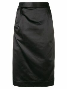 Vivienne Westwood Anglomania draped pencil skirt - Black