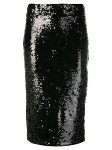 Michael Michael Kors sequinned pencil skirt - Black