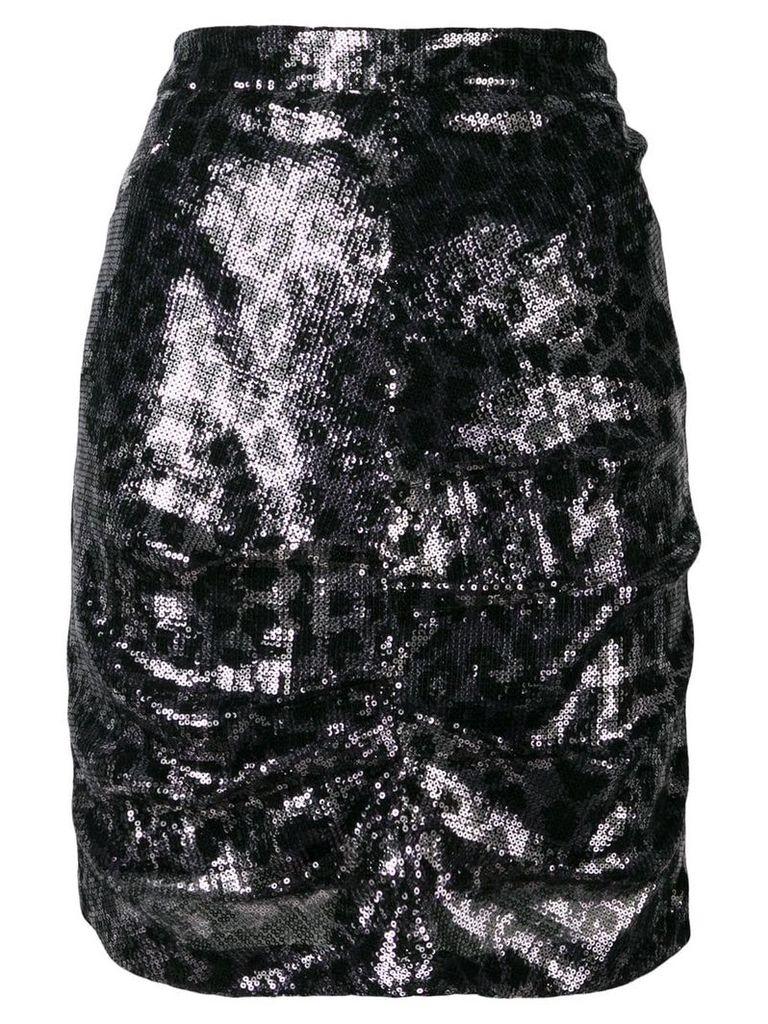 MSGM sequin pencil skirt - Black