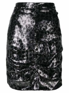 MSGM sequin pencil skirt - Black