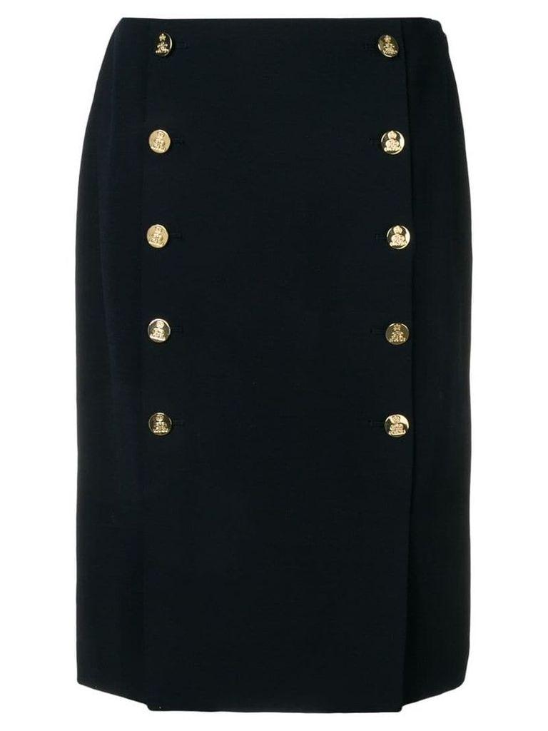 Ralph Lauren Collection Ophelle midi skirt - Blue