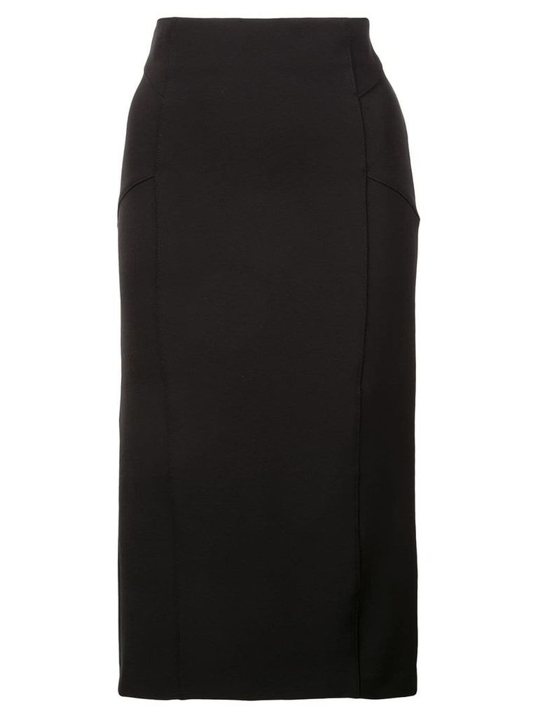 Veronica Beard piped pencil skirt - Black