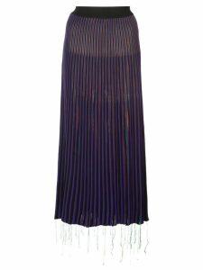 Marni asymmetrical midi skirt - Multicolour