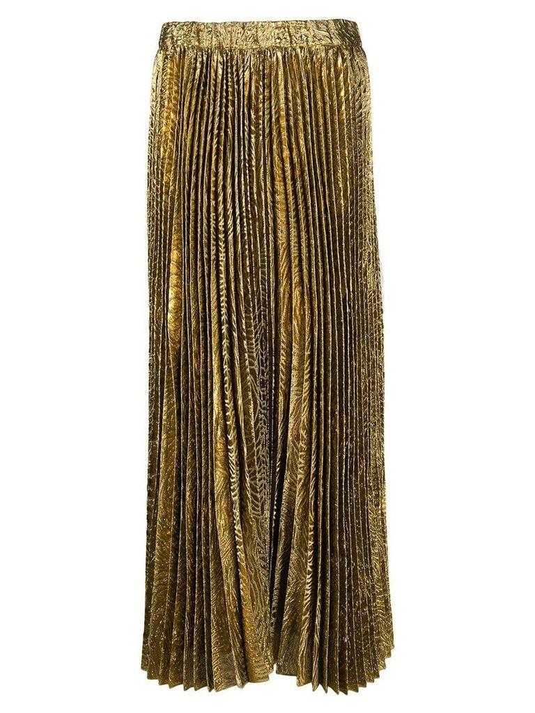 La Doublej Soleil skirt - Gold