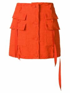 MSGM tweed skirt - Orange