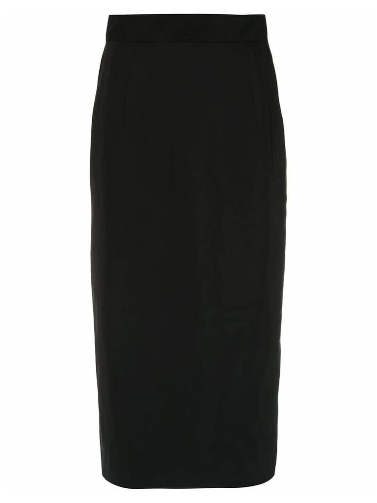 À La Garçonne Memory pencil skirt - Black