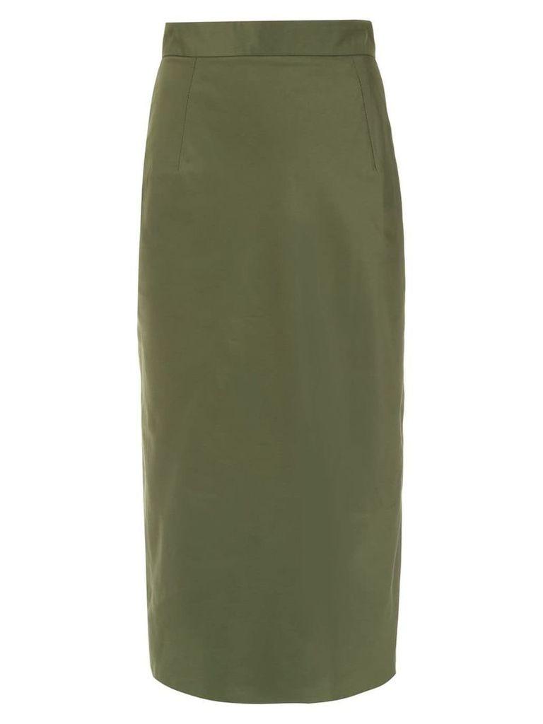 À La Garçonne Memory pencil skirt - Green