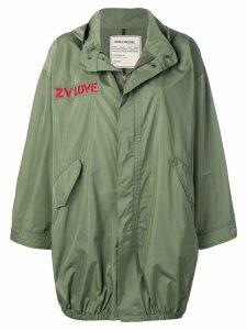 Zadig & Voltaire Kiko parka coat - Green