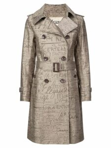 Herno 70th Limited Edition trench coat - Brown