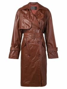 Christian Wijnants Chikal trench coat - Brown
