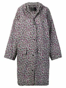 Christian Wijnants Chizu floral print raincoat - Pink