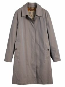 Burberry The Camden - Long Car Coat - Grey
